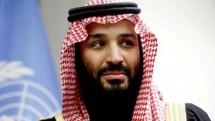 Héritier désigné du trône saoudien, le prince Mohammed...