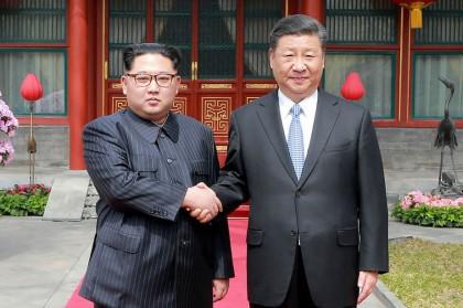 Le premier voyage à l'étranger de Kim Jong-un depuis sa prise de pouvoir en...