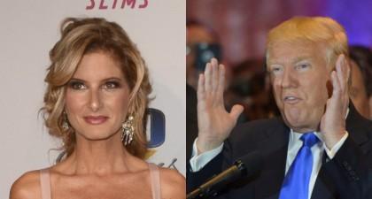 Donald Trump et Summer Zervos : du plateau...