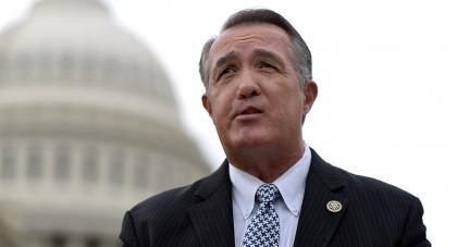 Le représentant républicain d\'Arizona Trent Franks a quitté...
