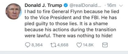 Donald Trump savait que Michael Flynn avait menti au FBI. C'est du moins ce...