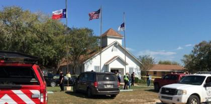 La petite église du Texas où un tireur...