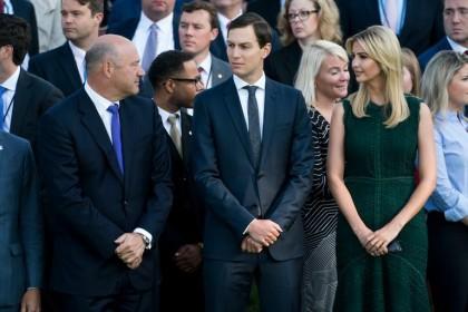 Gary Cohn, Jared Kushner et Ivanka Trump ont...