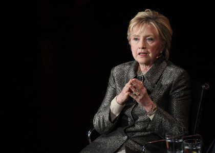 Hillary Clinton en avril 2016 : ses mémoires...