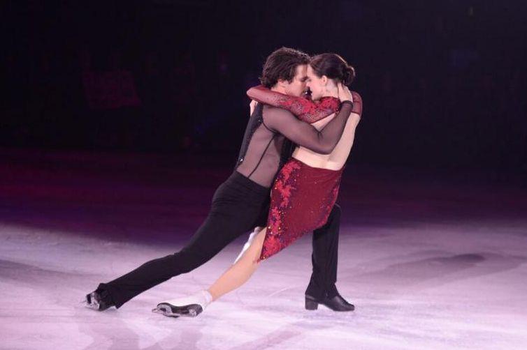 Lors de la tournée Stars on Ice, qui... (PHOTO AMANDA WICKS, POWER FORWARD, FOURNIE PAR STARS ON ICE)