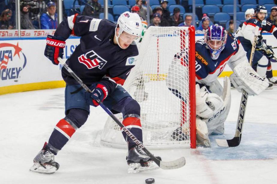 Brady Tkachuk est le fils de l'ancien joueur... (PhotoMark Blinch, Archives La Presse canadienne)