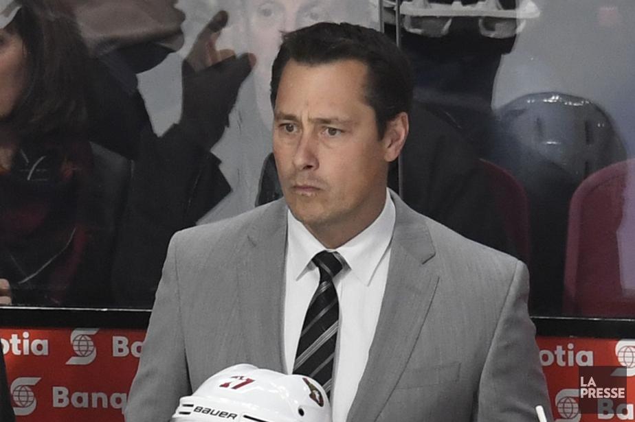L'entraîneur-chef des Sénateurs d'Ottawa, Guy Boucher.... (Photo Bernard Brault, La Presse)