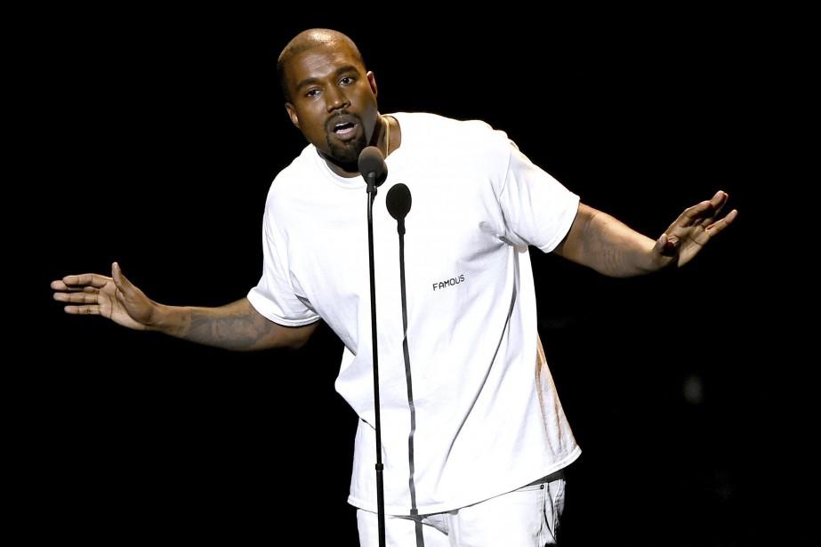 Kanye West... (ARCHIVES AP)