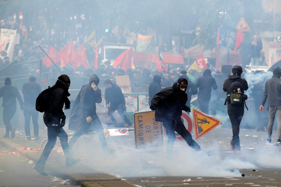 Les violences qui ont émaillé le défilé du... (REUTERS)