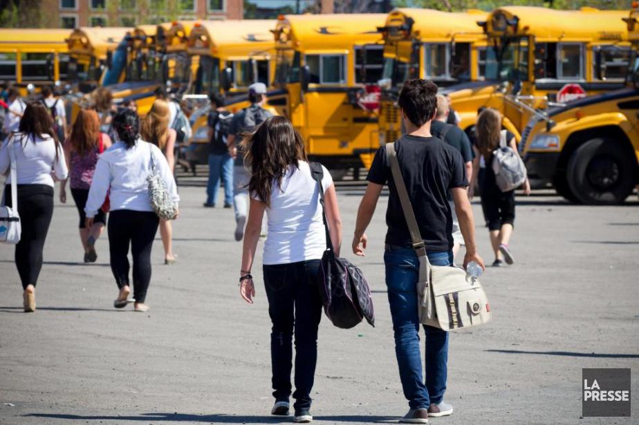 Au Québec, la proportion des jeunes qui obtiennent... (Photo Olivier Jean, Archives La Presse)