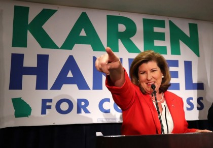 Karen Handel a remporté la course la plus...