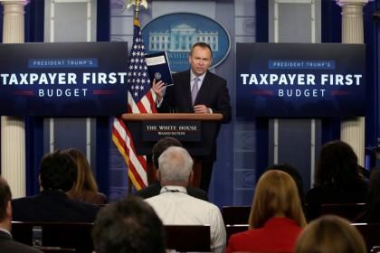 Mick Mulvaney, directeur du Budget et de la...