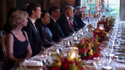 Ivanka Trump a côtoyé le président chinois Xi...