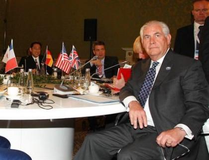 Rex Tillerson a participé à une réunion des...