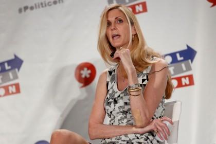 La commentatrice Ann Coulter ne cache pas sa...