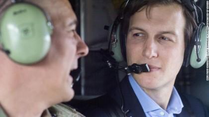 Jared Kushner a survolé une partie de l'Irak...