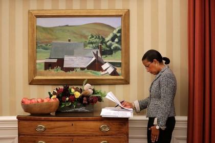 Susan Rice, ex-conseillère à la sécurité nationale de...