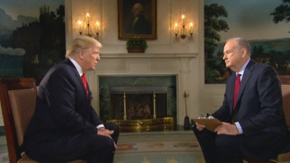 Bill O\'Reilly a interviewé Donald Trump en février...