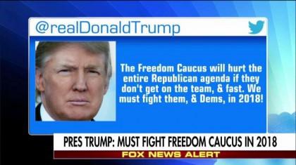 «Le Freedom Caucus nuira au programme complet des républicains s'il ne se...