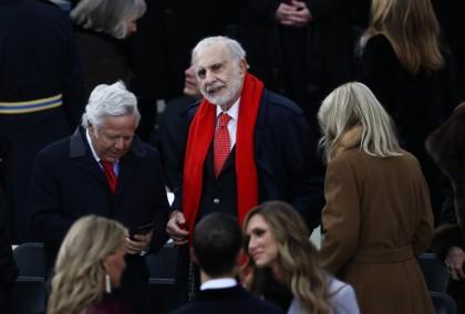 Carl Icahn a assisté à l'investiture de Donald...