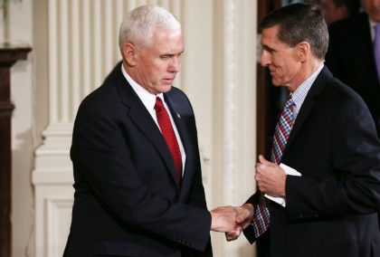 Le conseiller à la sécurité nationale Michael Flynn...