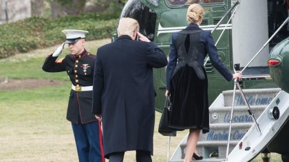 Donald Trump et sa fille Ivanka se sont...