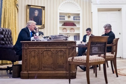 Donald Trump s'est entretenu samedi avec le PM...