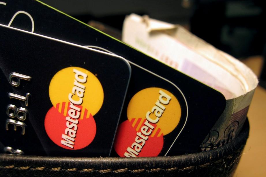 Le titre de MasterCard est en hausse de... (PHOTO REUTERS)