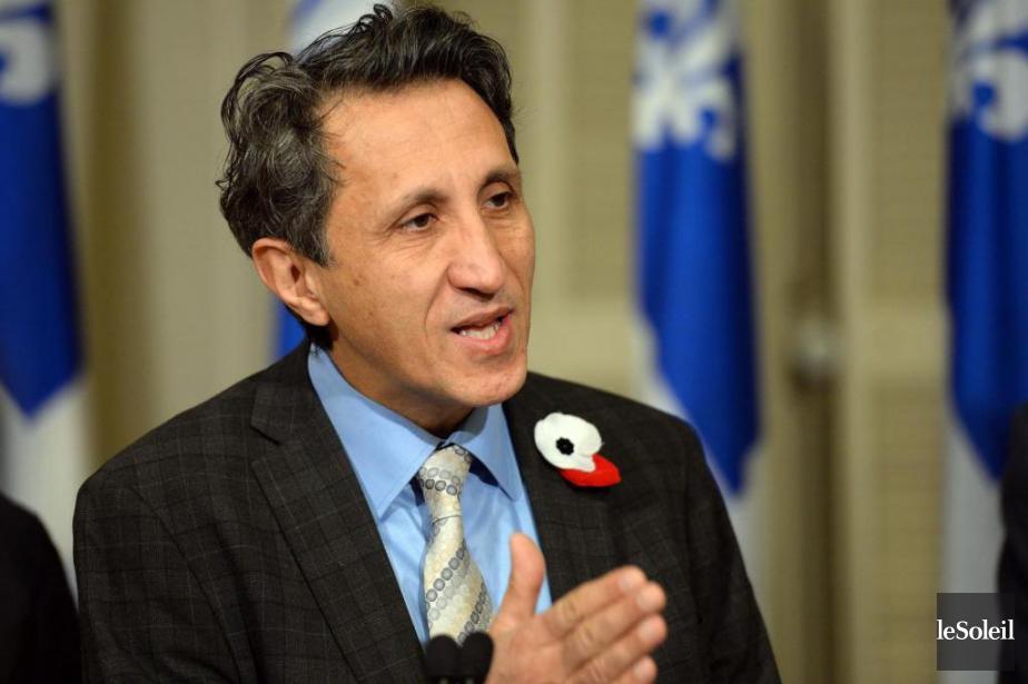 Amir Khadir, député de Québec solidaire... (Photo Érick Labbé, archives Le Soleil)