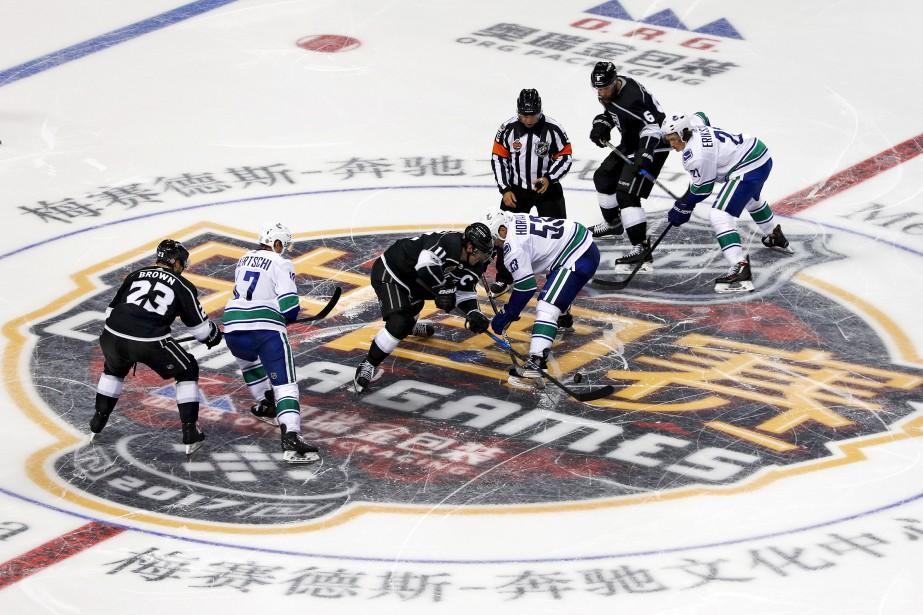 En septembre dernier, les Canucks de Vancouver et... (Photo archives AP)