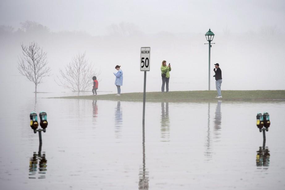 L'avis d'évacuation volontaire pourrait toucher jusqu'à 1900 personnes... (PHOTO PC)