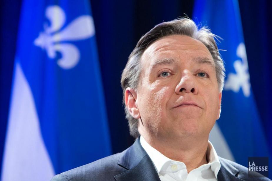 Selon une enquête d'Ipsos, la CAQ de François... (PHOTO ROBERT SKINNER, ARCHIVES LA PRESSE)