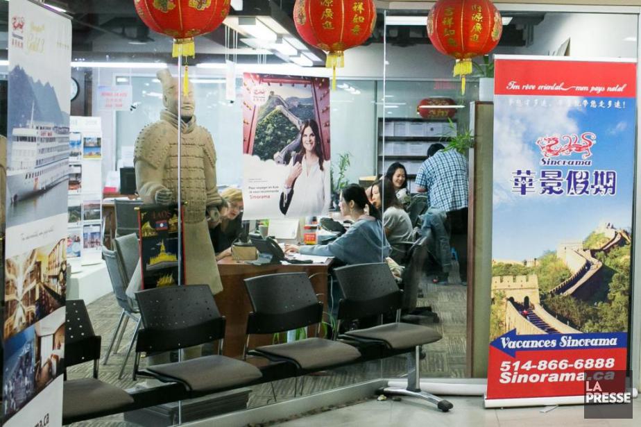 Les bureaux de Sinorama dans le Quartier chinois... (PHOTO MARTIN TREMBLAY, ARCHIVES LA PRESSE)