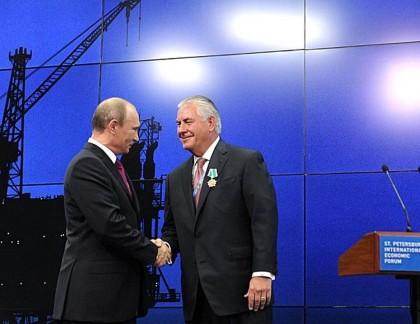 En 2012, Vladimir Poutine a décerné à Rex...
