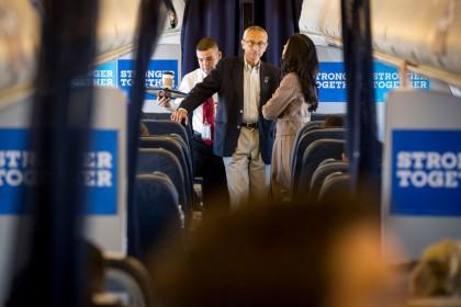 John Podesta, président de la campagne d\'Hillary Clinton,...
