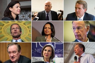 John McCain et Condi Rice ont ajouté leur...