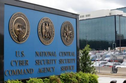 Le campus de la NSA à Fort Meade,...
