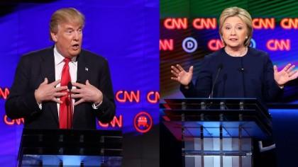 Le premier débat Trump-Clinton doit avoir lieu le...