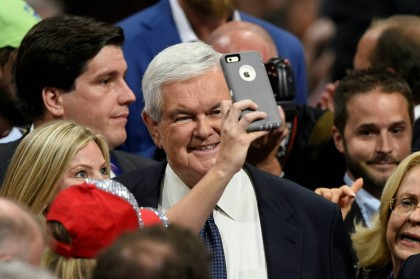 Newt Gingrich n'aime pas ce qu'il voit ces...