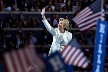 Hillary Clinton a profité de la convention démocrate...