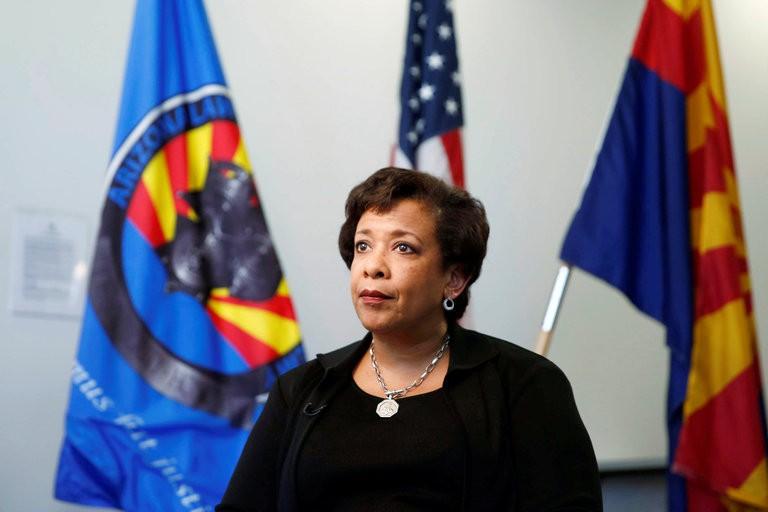 La ministre de la Justice Loretta Lynch est...