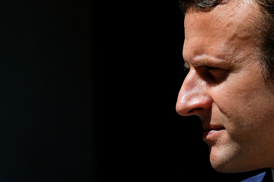 Emmanuel Macron.... (Gonzalo Fuentes, REUTERS)