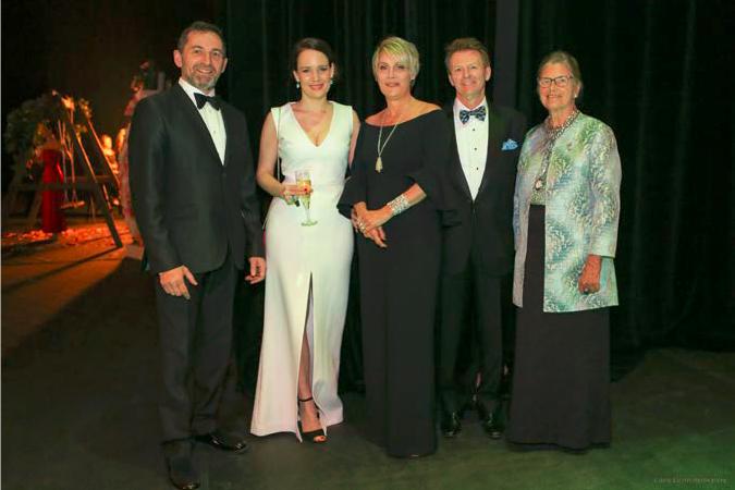 Alain Dancyger, Élise Charbonneau, Édéenne, Claude Gagnon et... (Crédit photo Karine Kelfond)