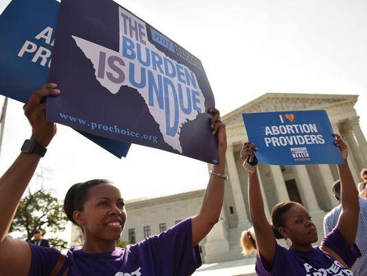 Les partisans du droit à l\'avortement ont remporté...