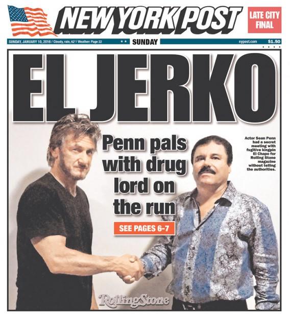 La Une du New York Post fait référence à un article publié hier sur le...