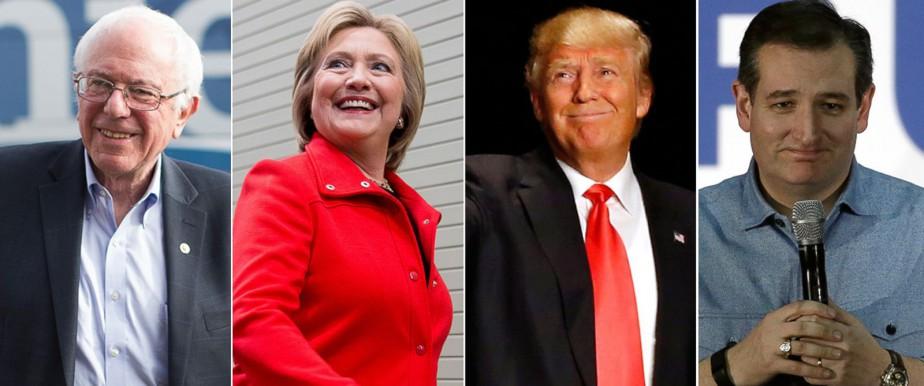 Deux de ces quatre candidats crieront victoire ce...
