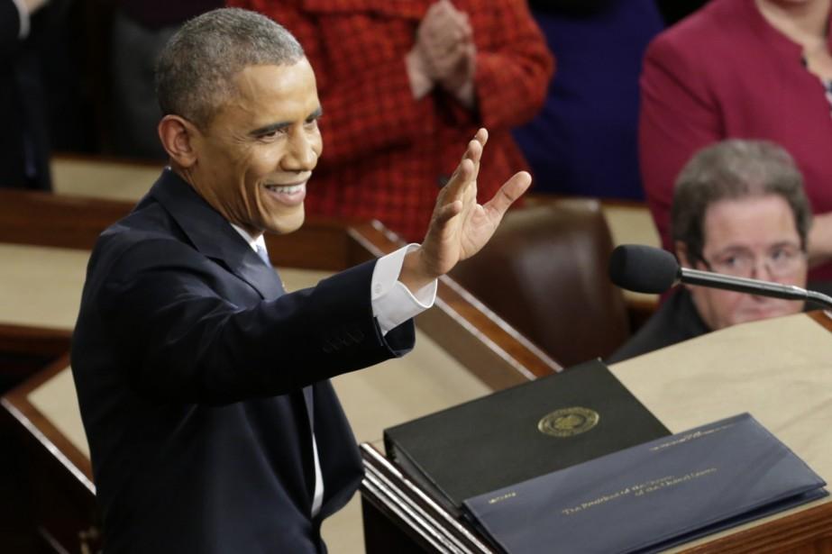 Barack Obama prononcera ce soir son dernier discours...
