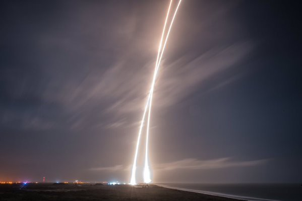 La société SpaceX du milliardaire américain Elon Musk a réussi hier pour la...