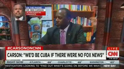 «Pensez-vous comme CNN que je suis un menteur pathologique?» Ben Carson, meneur...