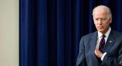 Même endeuillé, le vice-président Joe Biden serait calculateur....